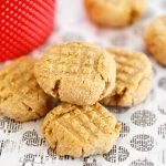 Easy three ingredient peanut butter dog treats
