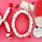 DIY XO hugs and kisses Valentine's Day dog tug toys
