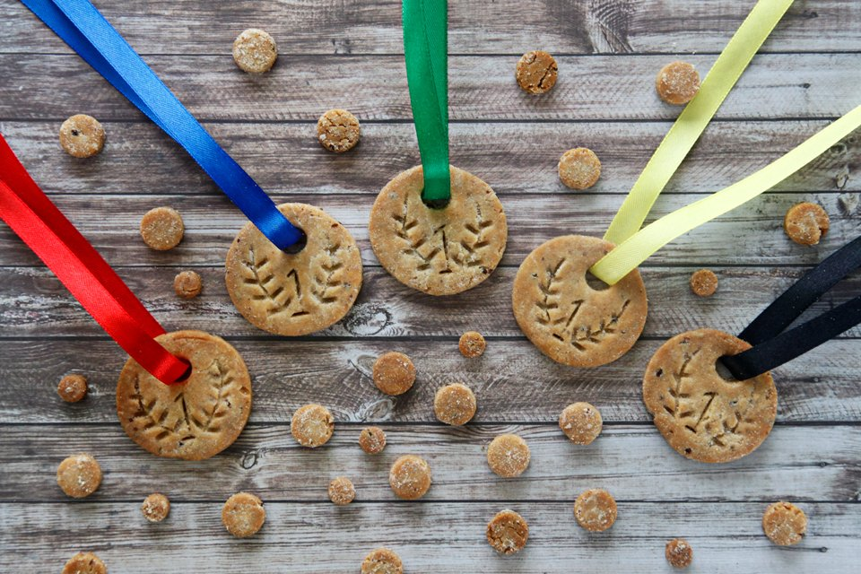 How to Make Gold Medal Dog Treats (or Human Cookies!)