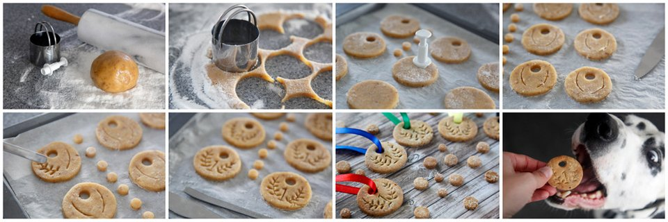 How to make dog treat or cookies shaped like medals