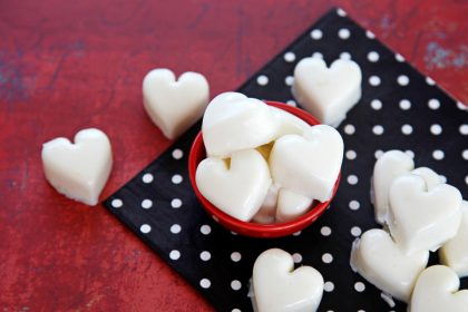 Healthy heart yogurt gelatin gummy dog treat recipe
