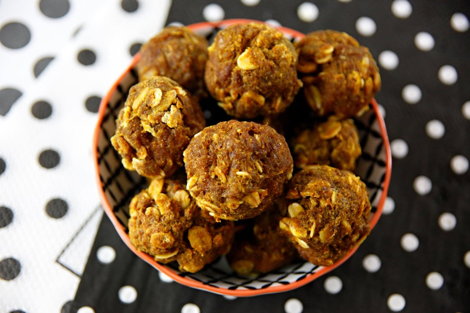 Homemade turkey and turmeric mini meatball dog treats