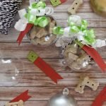 DIY dog treat Christmas ornament bauble gifts