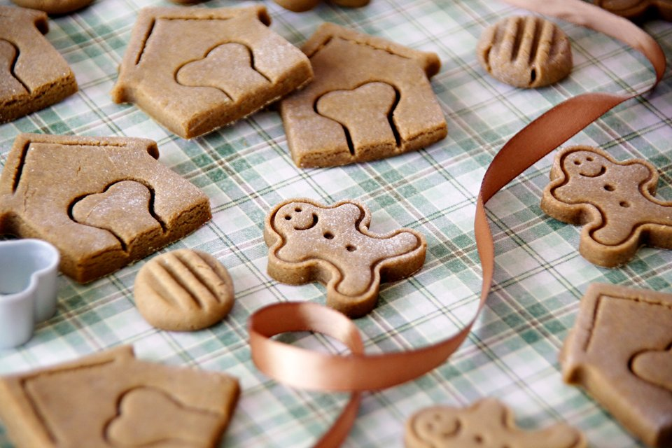 Peanut butter and molasses dog treat recipe