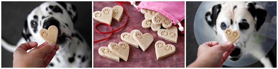 Apple Cinnamon Puppy Love Valentine Dog Treats