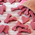 Blackberry cream cheese Valentine's Day dog treat recipe