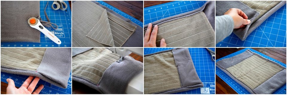 Making a soft fabric DIY dog mobility sling