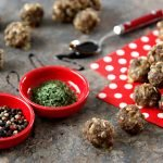 Blackstrap barbeque meatball dog treat recipe