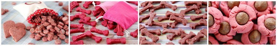 Making naturally coloured pink treats for Valentine's Day