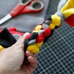 Troubleshooting common pattren problems in DIY fleece dog tug toys
