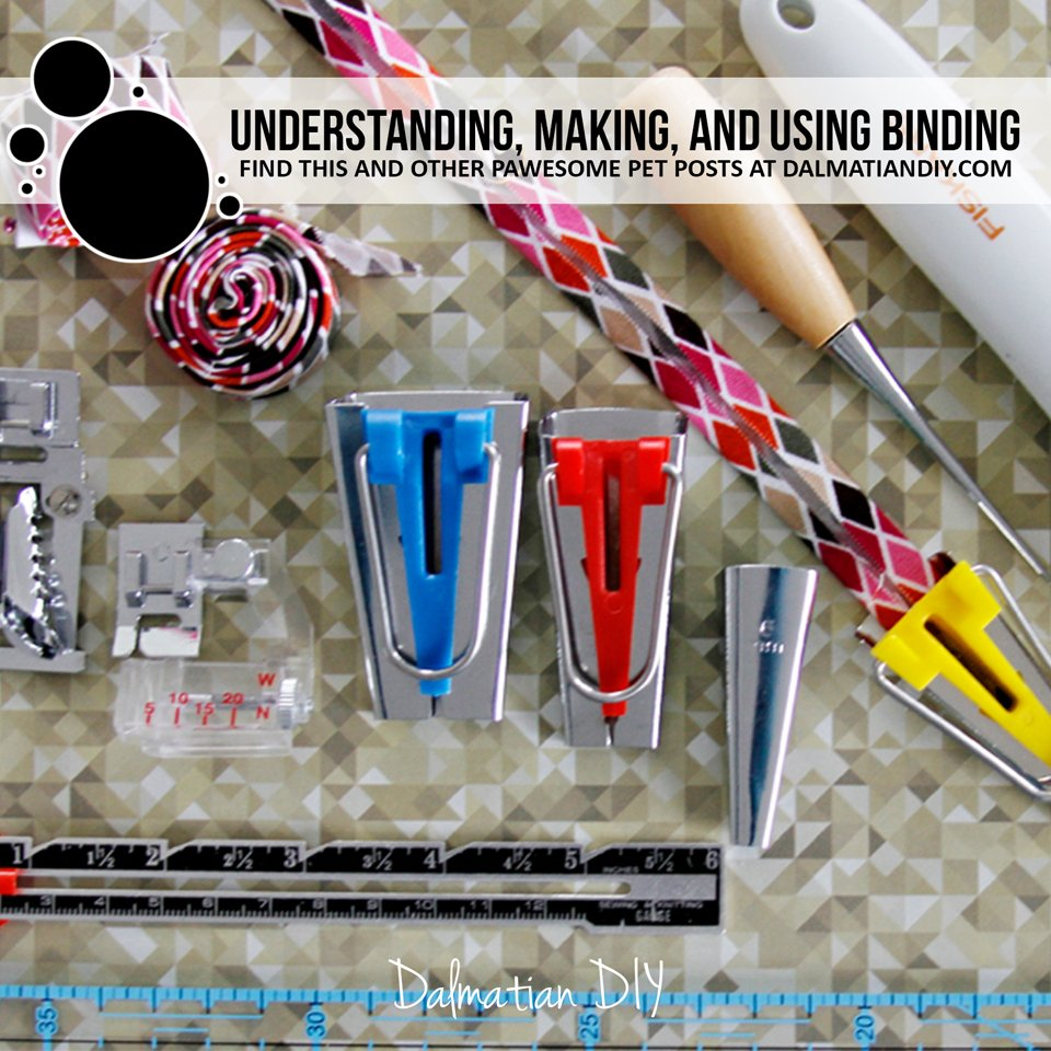 Making and using binding tapes