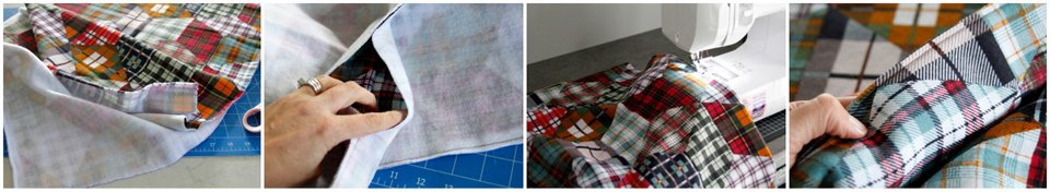 Sewing a double sided dog blanket