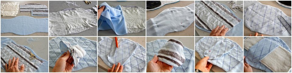 How to sew a stay-dry liner for a dog belly band diaper