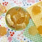 Calming chamomile gelatin gummy dog treat recipe