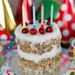 Homemade layered lamb dog birthday cake recipe
