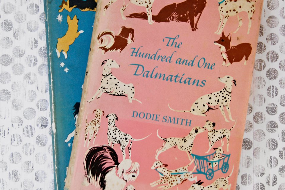 "Vintage ""The Hundred and One Dalmatians"" book"
